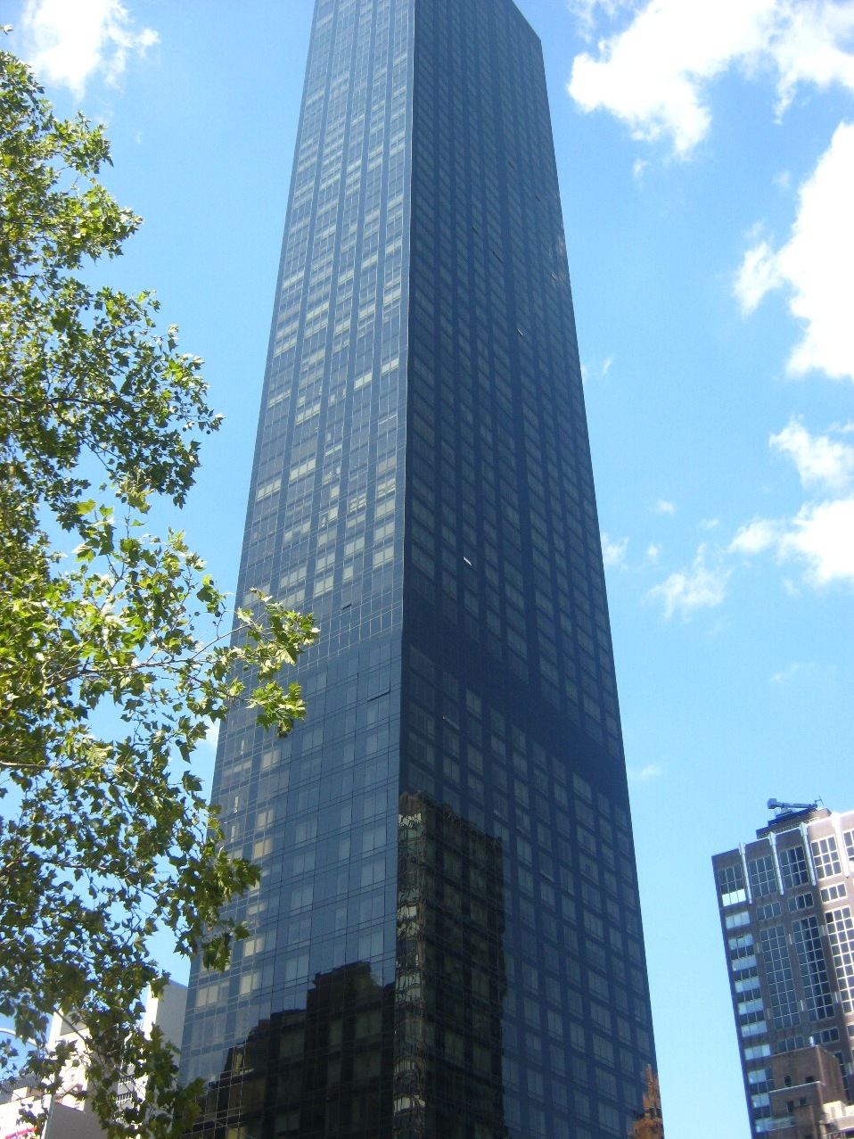 トランプ・ワールド・タワーの高層ビル。