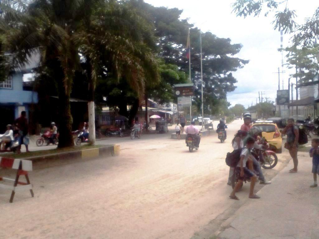 コロンビアとブラジルの陸路国境