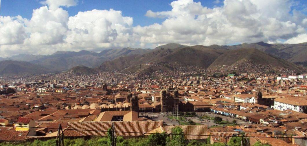 インカ帝国の首都だったクスコ。