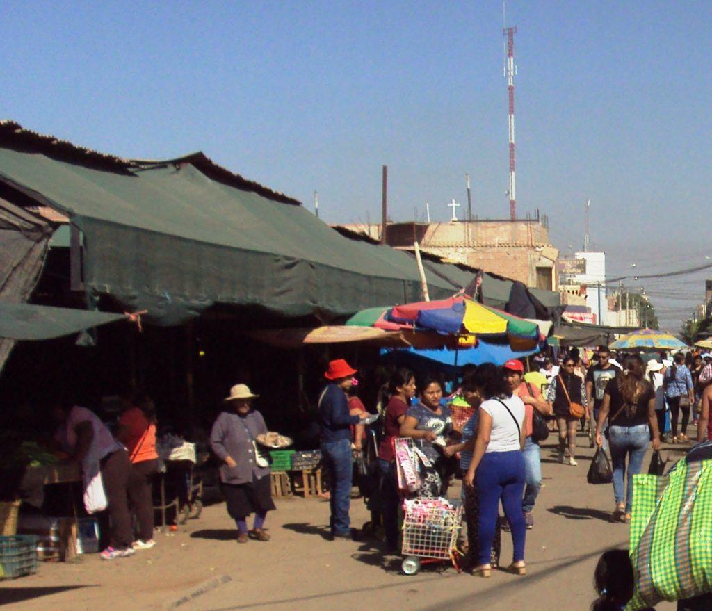 ナスカの市場。