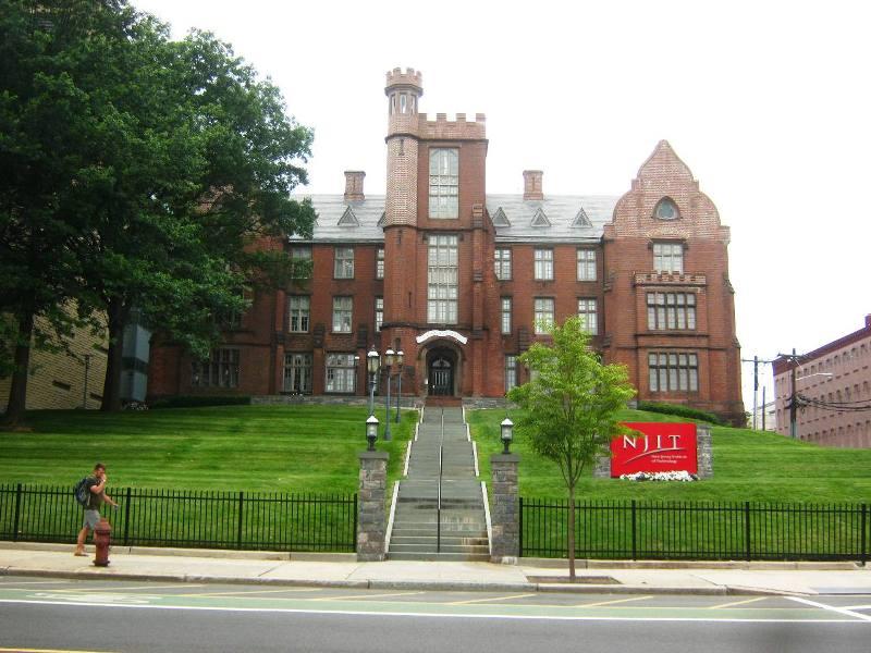 ニュージャージー工科大学の古い校舎。
