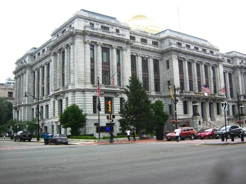ニューアーク市役所。