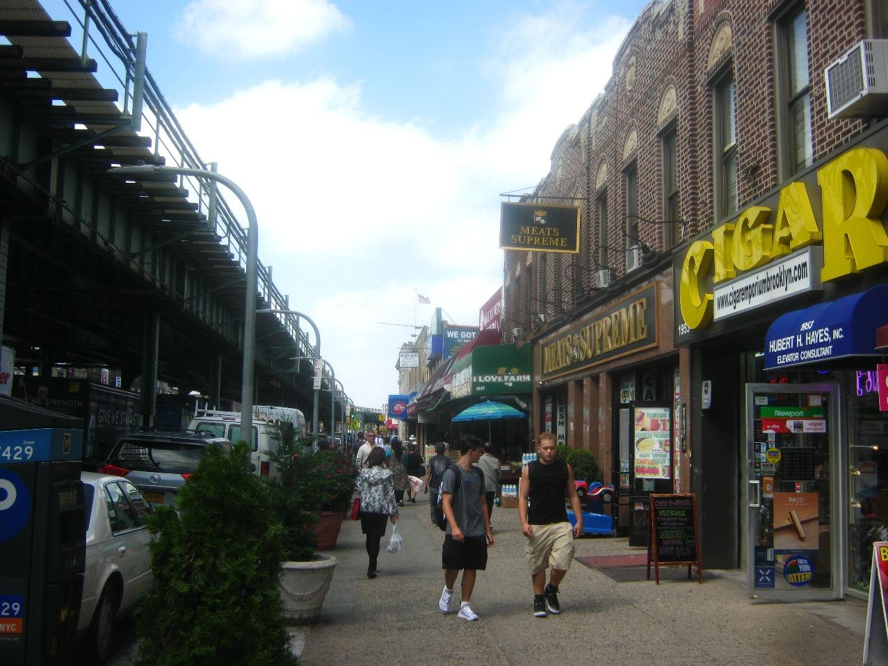 ブルックリンの86番ストリート。