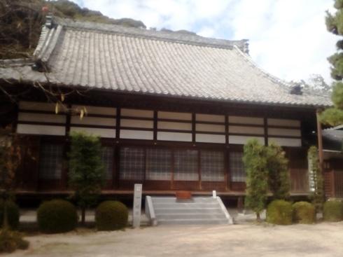 華蔵寺の本堂。