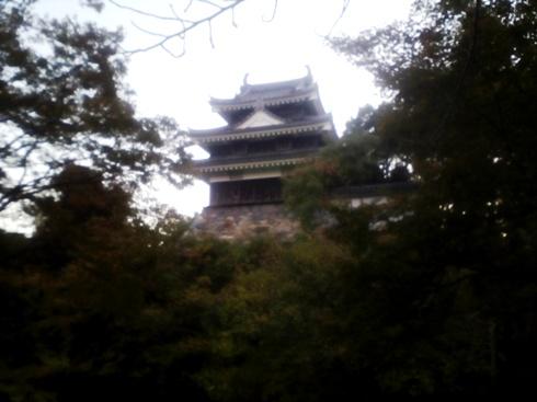 西尾城の天守閣。
