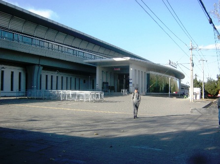 地下鉄15号線国展駅。