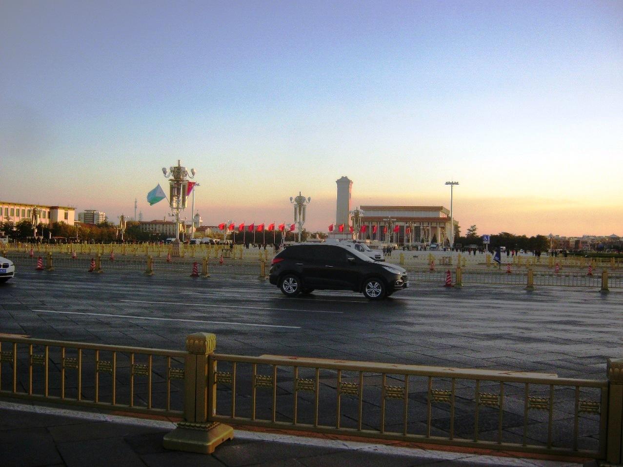 天安門広場。