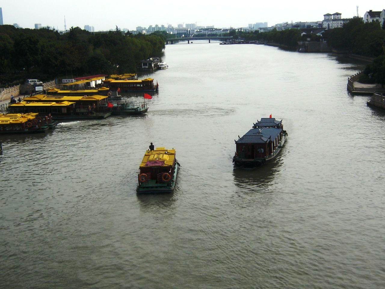 蘇州の運河。