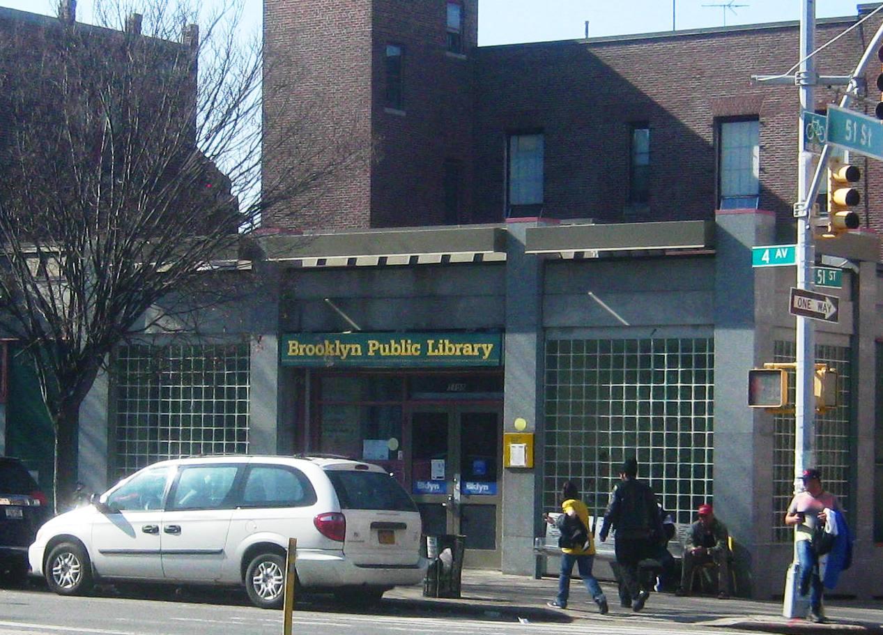 ブルックリン公共図書館サンセットパーク分館。