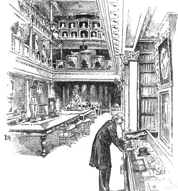 ニューヨーク・ソサイアティ図書館。
