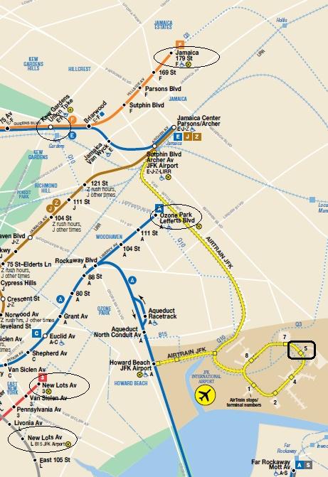 NY地下鉄マップ