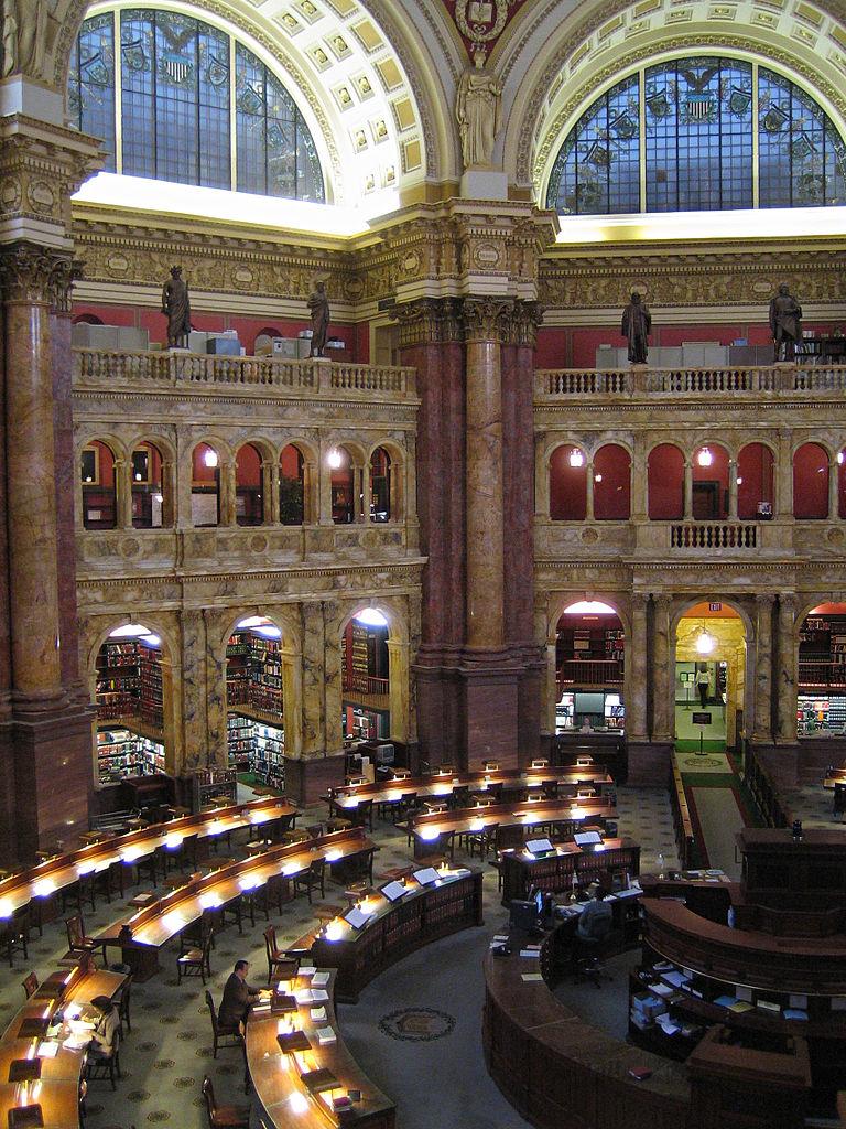 米議会図書館の参考資料室