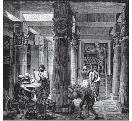 アレクサンドリア図書館(エジプト)