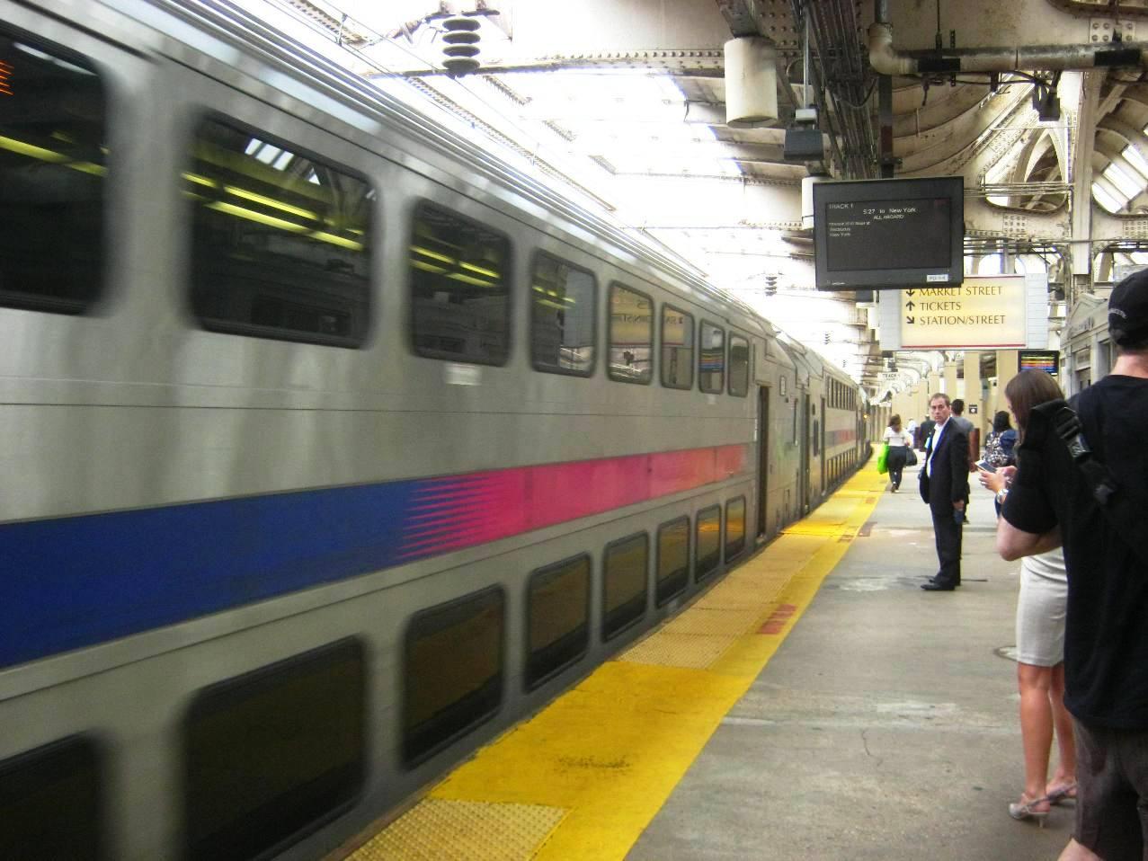NJトランジットの列車。