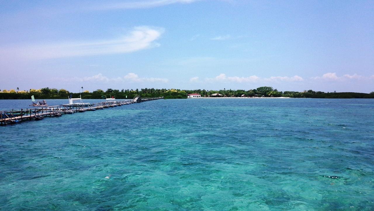 セブの海(オランゴ島)