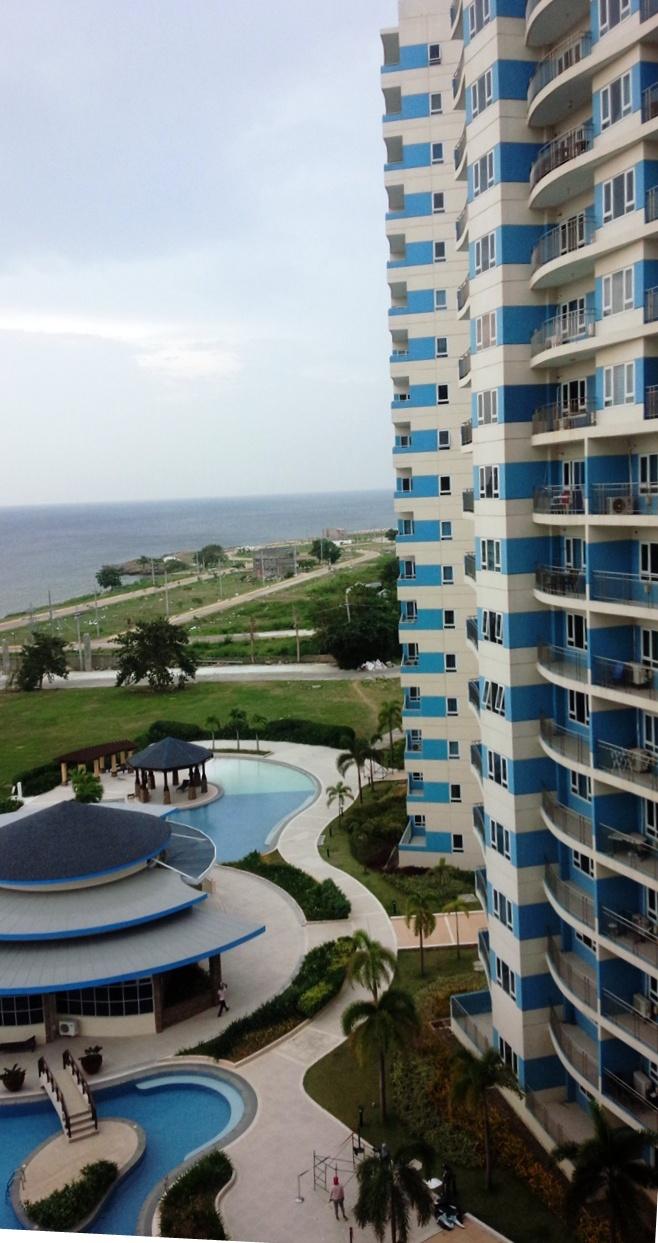 マクタン島東部のエンガニョ半島のリゾートホテル